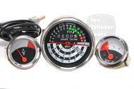 John Deere 1010 Row Crop Utility  Tachometer,Temperature Gauge, Fuel Gauge   OIL & TEMP GAUGES WILL FIT IN SOME LATE 1964 ORIGINAL dashboards