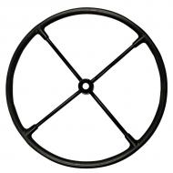 """20"""" outside diameter, four steel spokes with tapared (.765"""" to .830"""") and keyed hub. Part Reference Numbers: AR505R Fits Models: 70 INDUST/CONST; 720; 80 INDUST/CONST; 820; R"""