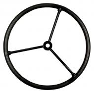"17 5/8"" outside diameter, three steel spokes with tapared (.775"" to .875"") and keyed hub. Part Reference Numbers: AA380R Fits Models: 50; 520; 60  INDUST/CONST; 620; 70 INDUST/CONST; 720; 80 INDUST/CONST; 820; A; B; D; G; R"