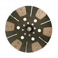 "12"" 6 Pad Cerametallic Disc with 1.25"" 10 Spline hub Part Reference Numbers: AL120021;AL23097;AL30452;AT26774 Fits Models: 2130; 2840; 3030; 3120; 3130"