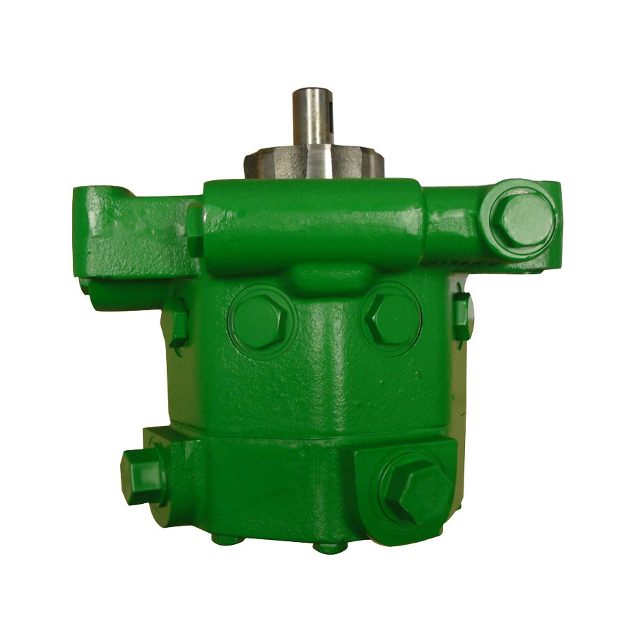John Deere Hydraulic Pump Keyed Shaft Unit W/eight Pistons.