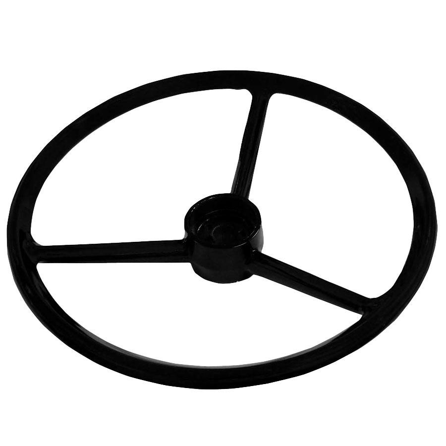 John Deere Steering Wheel Mat Vinyl Material W/Three Spokes. 16 OD