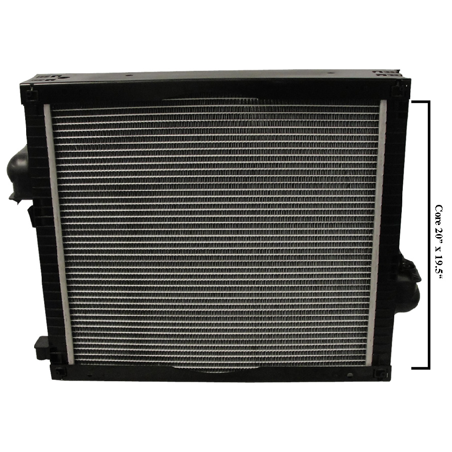 John Deere Radiator OVERALL HEIGHT: 23 7/8