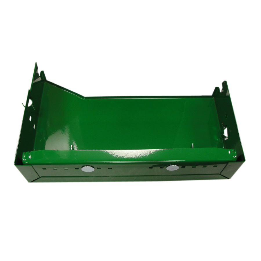 John Deere Battery Box W/Bracket Right Hand Battery Tray For Row Crop Models Without Cab.