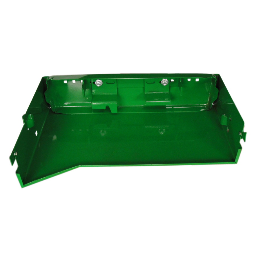 John Deere Battery Box W/ Bracket Left Side Battery Tray For Row Crop Models Without Cab.