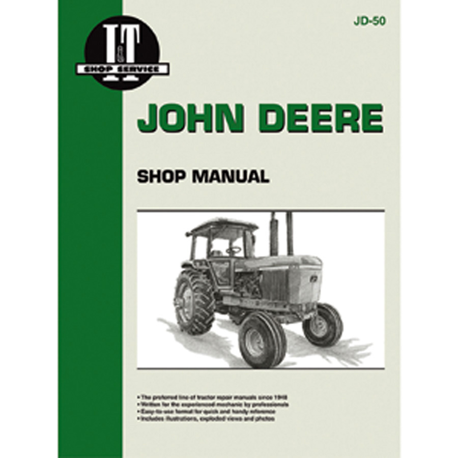 John Deere Service Manual 112 Pages. Does Not Include Wiring Diagrams.