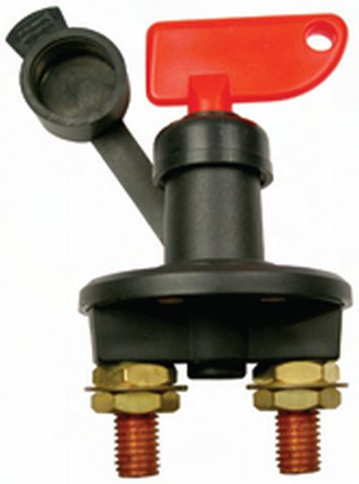 Battery Shut Off - Isolator - Its Is A Key As Well.