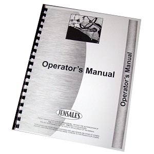 John Deere Early B Operator Manual