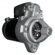 12v, 9 tooth, 0.7kw, CCW rotation, DD type w/two (2) ear mount. Part Reference Numbers: AM108615 Fits Models: 185 RIDING MOWER; 260 RIDING MOWER; 265 RIDING MOWER; F525  RIDING MOWER; F710 RIDING MOWER; GS75 RIDING MOWER; GT262 RIDING MOWER; GT265 RIDING MOWER; GT275 RIDING MOWER; HD75; LX186 RIDING MOWER