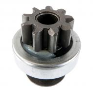 9 tooth, CW, 4 spline. Starter drive for diesel and gas applications. Part Reference Numbers: AM105579 Fits Models: 240 MOWER; 245 RIDING MOWER; 2500 MOWER; 2500A MOWER; 2500E MOWER; 260 RIDING MOWER; 265 RIDING MOWER; 285 RIDING MOWER; 320 RIDING MOWER; 335 RIDING MOWER; 345 MOWER; 425 MOWER; 445 RIDING MOWER; 455 RIDING MOWER; AMT 622; AMT 626; F725 RIDING MOWER; GATOR 4X2; GATOR 6X4; GATOR CS; GATOR CX; GATOR HPX 4X2; GATOR HPX 4X4; GATOR TRAIL; GATOR TRAIL 6X4; GATOR TRAIL HPX 4X4; GATOR TS; GATOR WORKSITE; GX345 RIDING MOWER; LX172 RIDING MOWER; LX173 RIDING MOWER; LX176 RIDING MOWER; LX178 RIDING MOWER; LX186 RIDING MOWER; LX188 RIDING MOWER; LX277 RIDING MOWER; LX279 RIDING MOWER; LX289 RIDING MOWER; X475 RIDING MOWER; X485 RIDING MOWER; X575 RIDING MOWER; X585 RIDING MOWER; X700 RIDING MOWER; X720 RIDING MOWER; X724 RIDING MOWER; X728 MOWER; XUV 620I; YANMAR 3TNA72 22 HP ENG