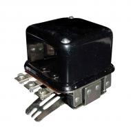 12v, Dual Polarity, Two-Unit Type, A-Circuit, 3-Terminal. Terminals are: BAT-GEN-FLD, GRD (base). Part Reference Numbers: 1118792;A20792;VR1820 Fits Models: 1030; 50; 520; 530; 60  INDUST/CONST; 70 INDUST/CONST; 700; 720; 730; 830 LOADER; 900; 930; 940 INDUST/CONST; A; G