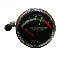 Tachometer assembly with RED needle. Tractors: Gas/Diesel with Syncro Range Transmission. Red needle used through 1968. No provision for fiber optc light. Part Reference Numbers: AR32838;AR39909;AR39910;AR45442;AR48019;AR50400;AR50404;RE206853 Fits Models: 2510; 2520; 3020