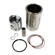 Piston kit (standard size) for diesel applications. Part Reference Numbers: AR71593 Fits Models: 1420 MOWER; 1520; 1530; 2030; 2120; 2270 WINDROWER; 2320 WINDROWER; 2420 WINDROWER; 350B CRAWLER; 401 INDUST/CONST; 401A INDUST/CONST; 440 SKIDDER; 440B SKIDDER; 450B INDUST/CONST; 480A LIFT TRUCK; 499 COTTON PICKER