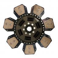 "12-5/8""  Disc - 7 Pad, with 1-1/4"" 10 Spline Hub Part Reference Numbers: AL36133;AL39099;AL39168;AL64759 Fits Models: 1641; 1641F; 2040S; 2140; 2550; 2750; 2940; 2950; 3040; 3140"