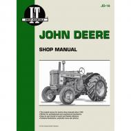 80 pages. Does not include wiring diagrams. Part Reference Numbers: JD-16 Fits Models: 520; 530; 620; 630; 720; 730