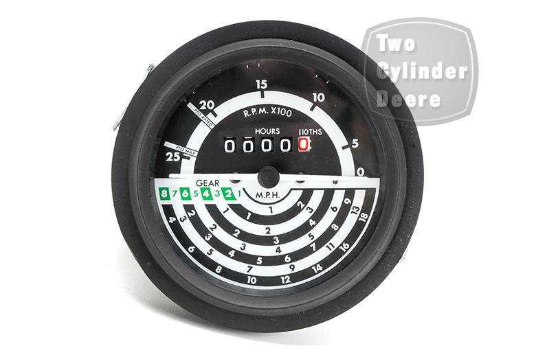 Tractormeter Gauge, 8 SPEED, - John Deere 1030, 1130, 1630, 1830, 2030, 2130