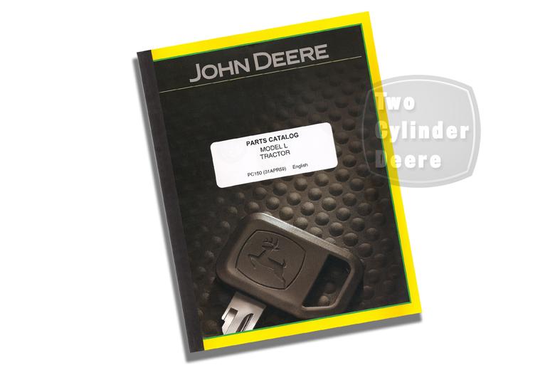 John Deere Model L Parts Catalog
